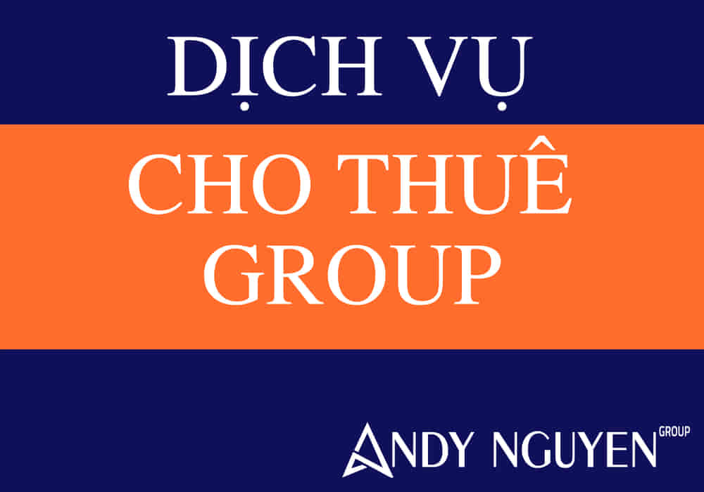 cho thuê group facebook
